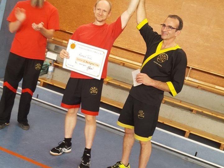 6. Meistergrad im WyngTjun für Sifu Romain